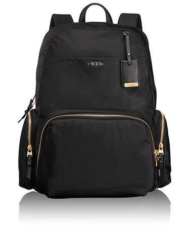 Voyageur Tumi Backpack, meeting supplies